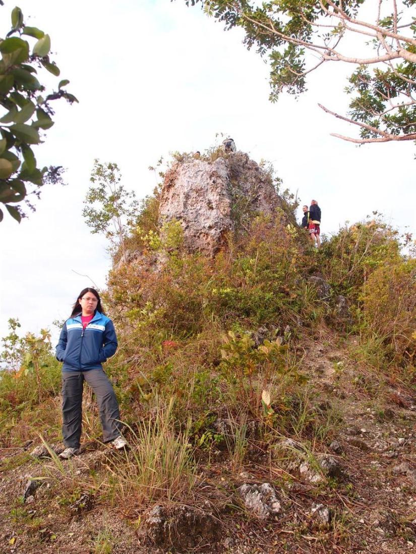 Just below the peak!