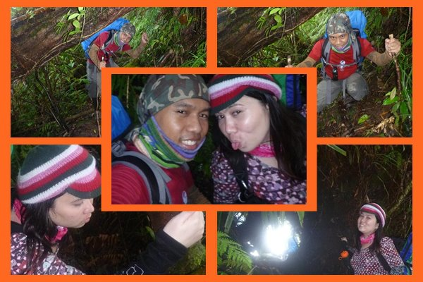 On the way to the camp site at Lake Nailig..