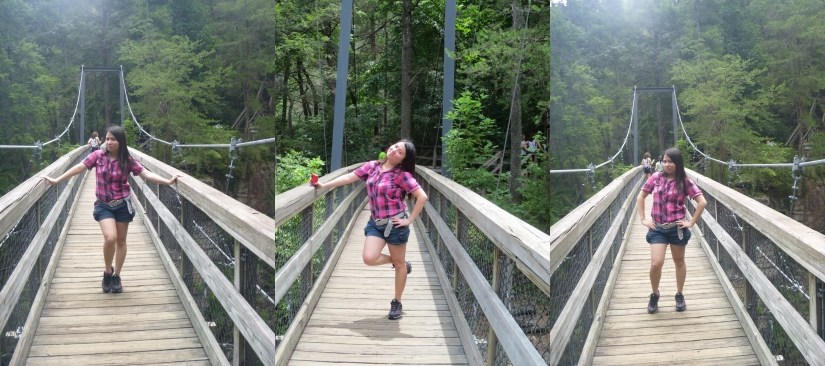 Bridge and the troubled girl :P