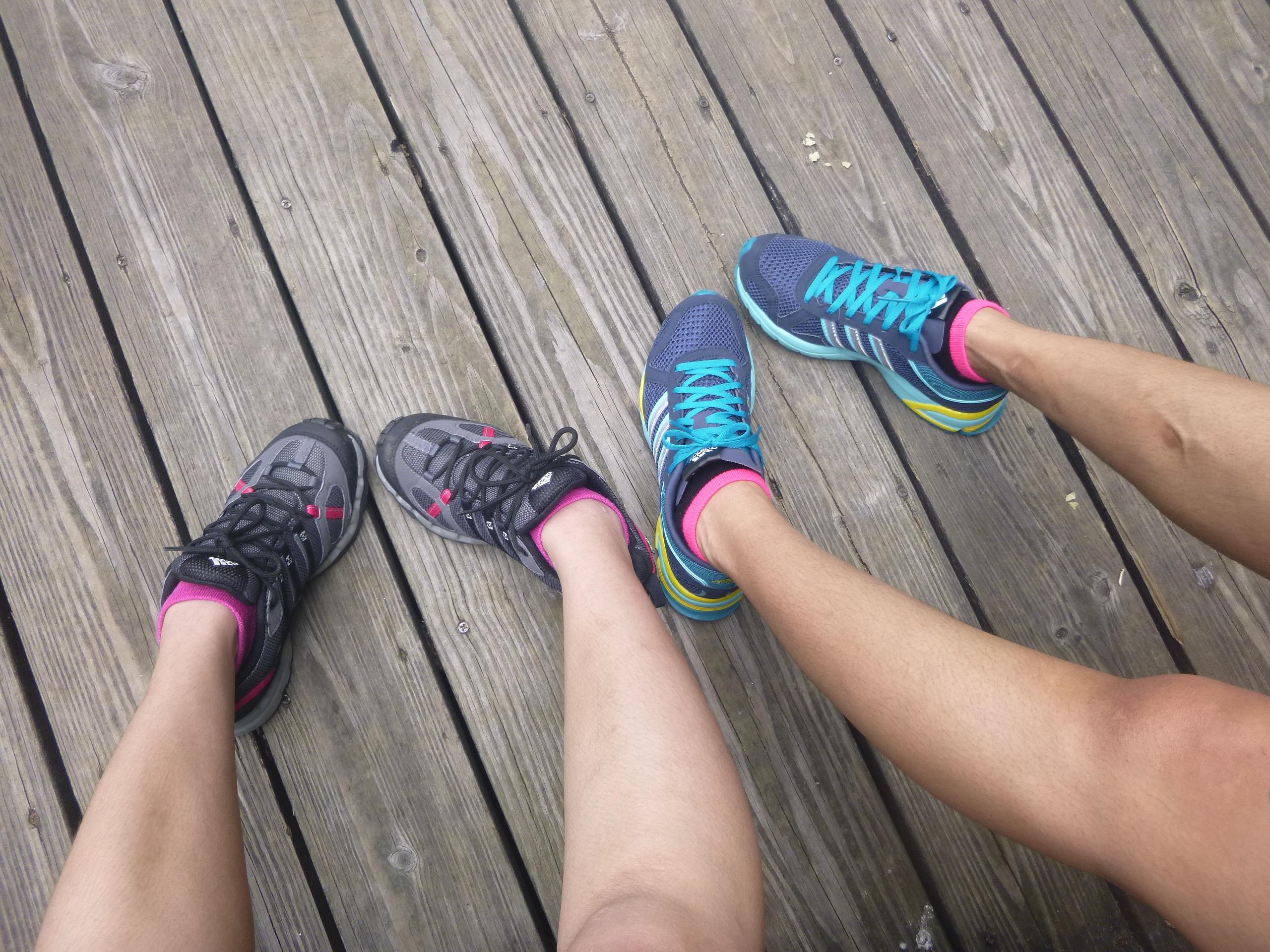 Pink socks!