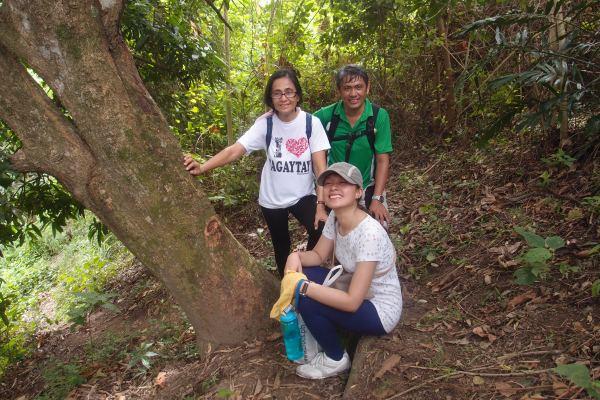 Charina with Tito and Tita!