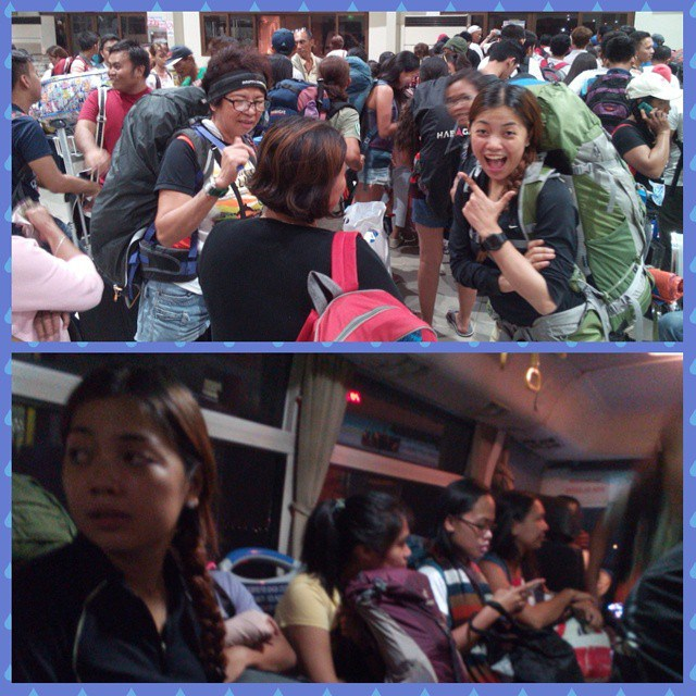 Fello trekkers from Cebu bound to MFPI All Women's climb as well.