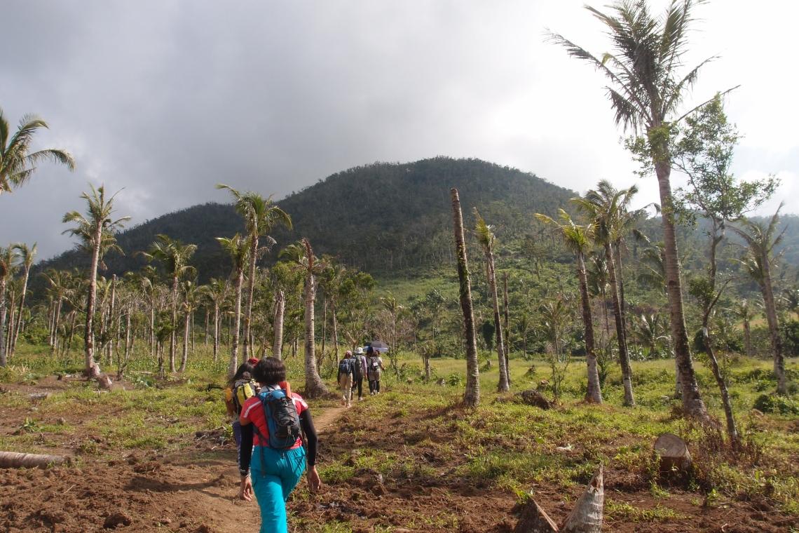 On the way to Mt. Janagdan